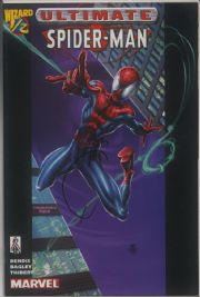 Ultimate Spider-man Wizard #1/2 Dynamic Forces Signed Joe Quesada COA Ltd 99 DF